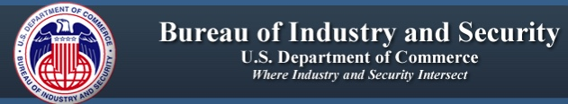 Bureau of Industry and Security, Us Department of Commerce