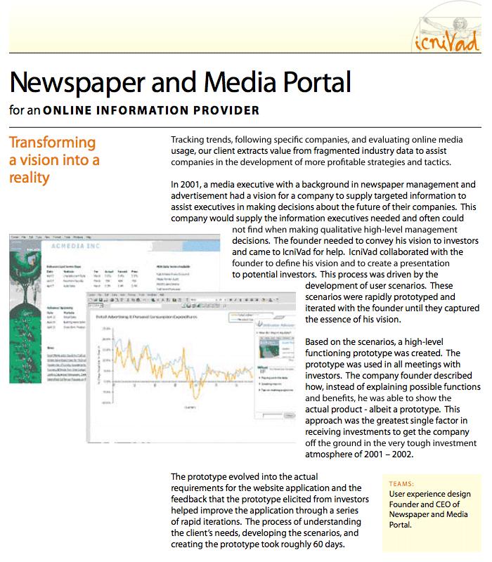 Developing a Newspaper Portal